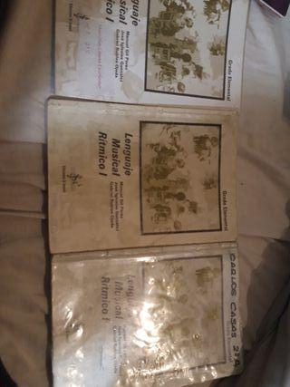 libro de solfeo, primaria - secundaria musica