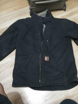 abrigo negro Carhartt