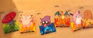 Cromos Pokemon (1,5 euros cada uno)