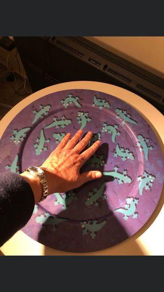 Plato o bandeja de 40 cm de diametro