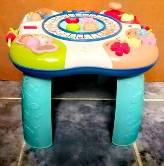 mesa de juegos para niños