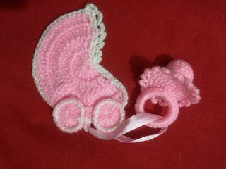decoración para carrito de bebe. por encargo