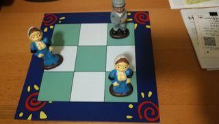 bonito juego típico madrid 3 en raya tres