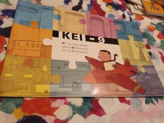 Kei 9 Kit Actividades Estimulación Inteligencia
