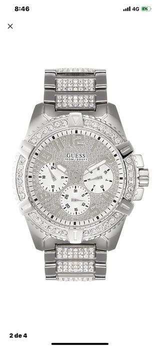 Guess silver sport reloj