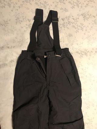 Pantalón eski niña talla 10