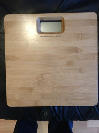 Wood weight scale