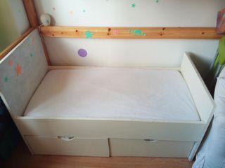 Cama infantil 120x60