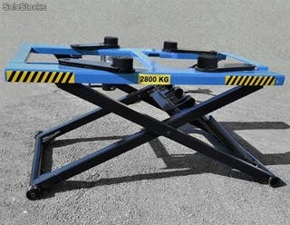 Elevador de coches tijera movil 220v 2,8Ton