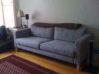 Sofa Ikea 3 plazas con fundas lavables
