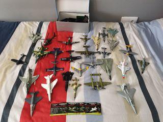 Colección Maquetas Aviones de Guerra AIRCRAFT