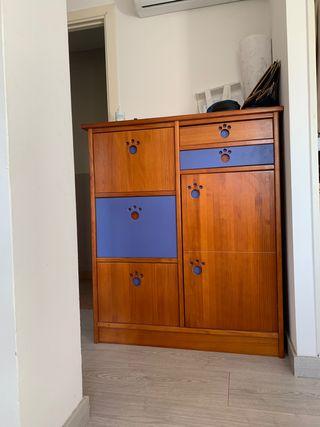 Mueble Decoración Madera Cajones (DESCUENTO)