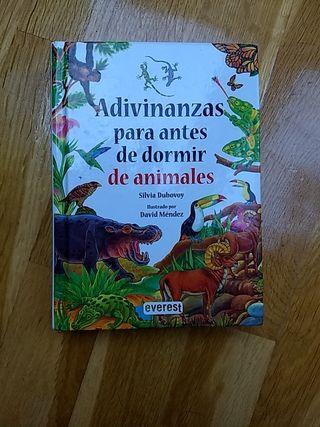 Libro infantil Adivinanzas de animales