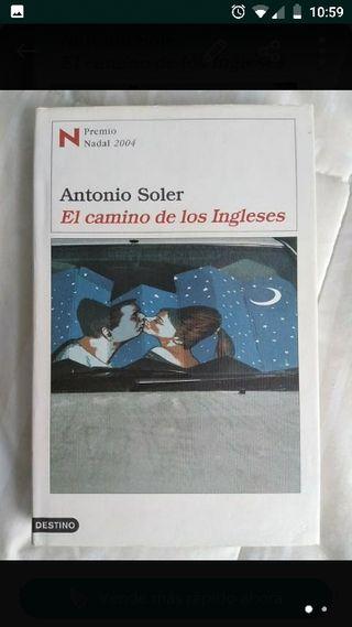 """Libro Novela """"El camino de los ingleses"""""""