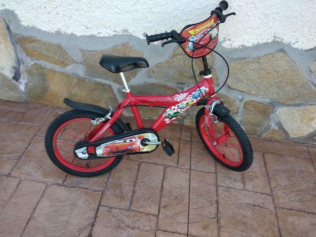 Bicicleta Rayo McQueen