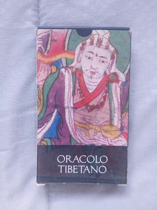 Cartas de Tarot nuevas oráculo Tibetano.