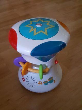 juego infantil tambor interactivo