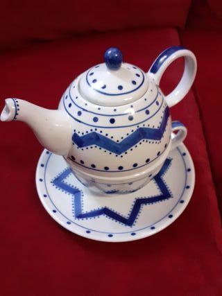 tetera de ceramica