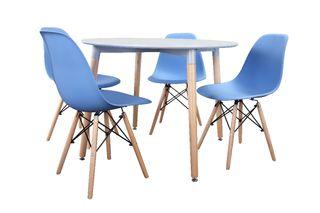 Mesa redonda + sillas