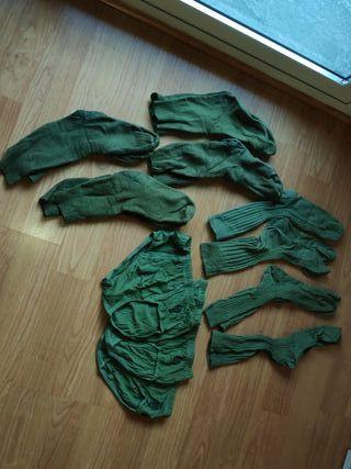 Ropa interior militar del ejército español