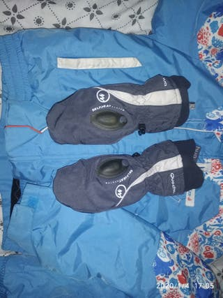 guantes, Ropa para la nieve