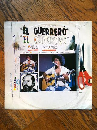 """Vinilo LP. PABLO MILANÉS .. """"El Guerrero"""""""