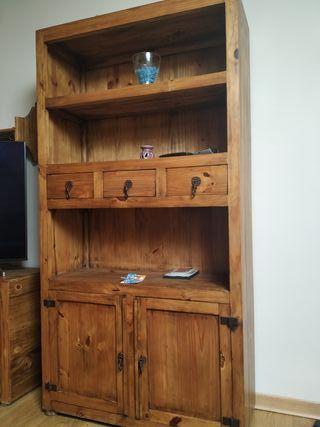 muebles salón rústicos