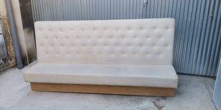 Banco sofá para restaurante
