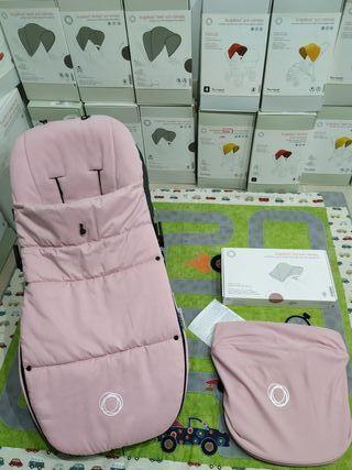 Saco soft Pink y capota Fox/camaleón