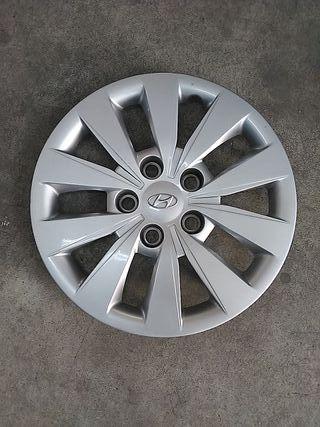 "Tapacubos original Hyundai 15"""