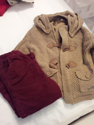 ropa niño de 6 meses a 2 años