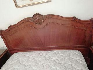 dormitorio nogal macizo