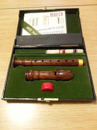 Flauta de pico sopranino MOECK 419 palisandro