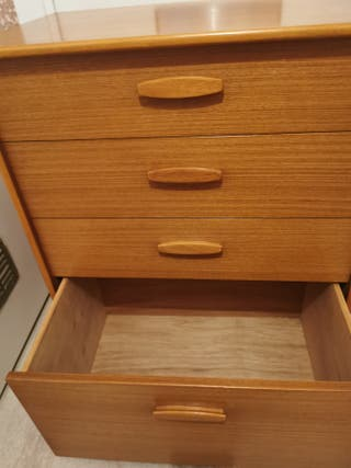 1960s retro teak chest of drawers by austinsuite