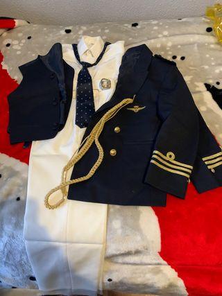 Traje comunion almirante