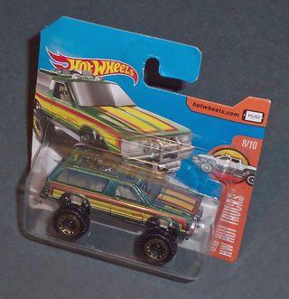 CHEVROLET Chevy Blazer 4x4 - HOT WHEELS 1/64