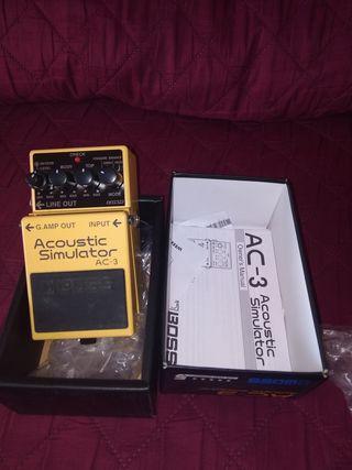 Pedal Guitarra Boss AC 3
