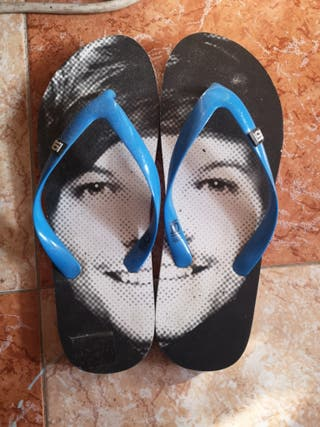 chanclas de one direction