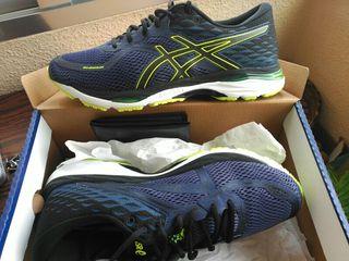asics deportivas running 44