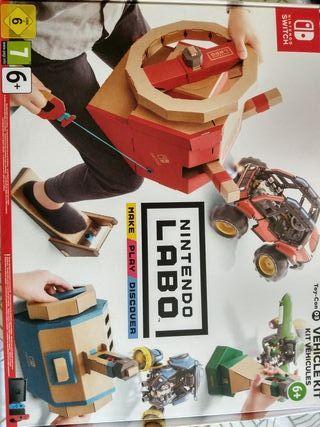 Nintendo Swicht Labo. Toy-Con 03 Vehicle Kit.