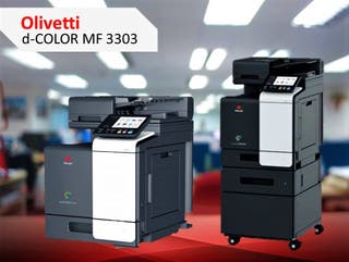 OLIVETTI D-COLOR MF3303 RENTING / VENTA