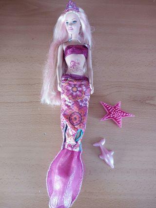 Barbie sirena de Aventura de sirenas