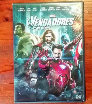 Los Vengadores de Marvel (DVD)
