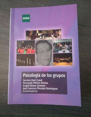 Libro Psicología de grupos UNED. NUEVO.