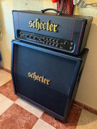 Amplificador Schecter Hellraiser 100W + Pantalla