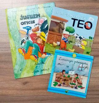 Libros cuentos infantiles letra ligada atada
