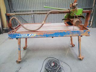 Máquina corte obra