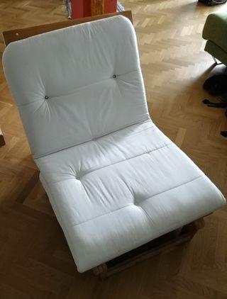 Sofá Cama Madera + futón
