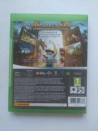 lego jurassic world xbox One videojuego