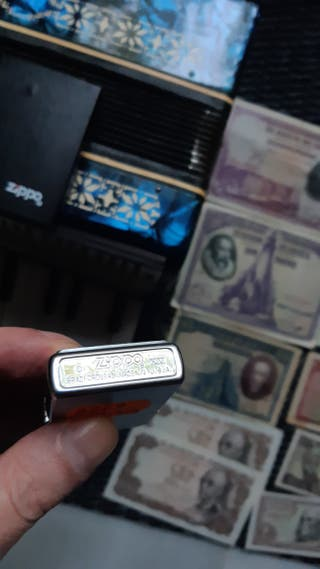 Billetes antiguos auténticos Zippo y Acordeón